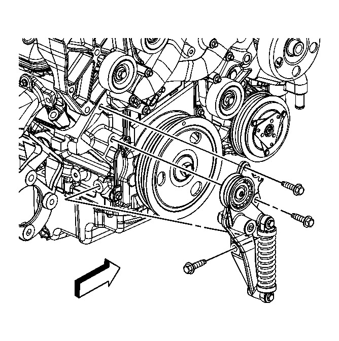 Diagram: I Need Diagram for Serpentine Belt Replacement