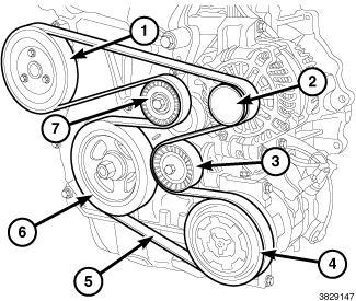 2013 Dodge Dart Serpentine Diagram: Need a Serpentine Belt