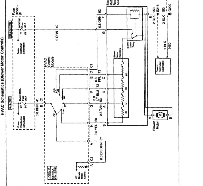 1997 Grand Prix Blower Motor Wiring Diagram : 43 Wiring