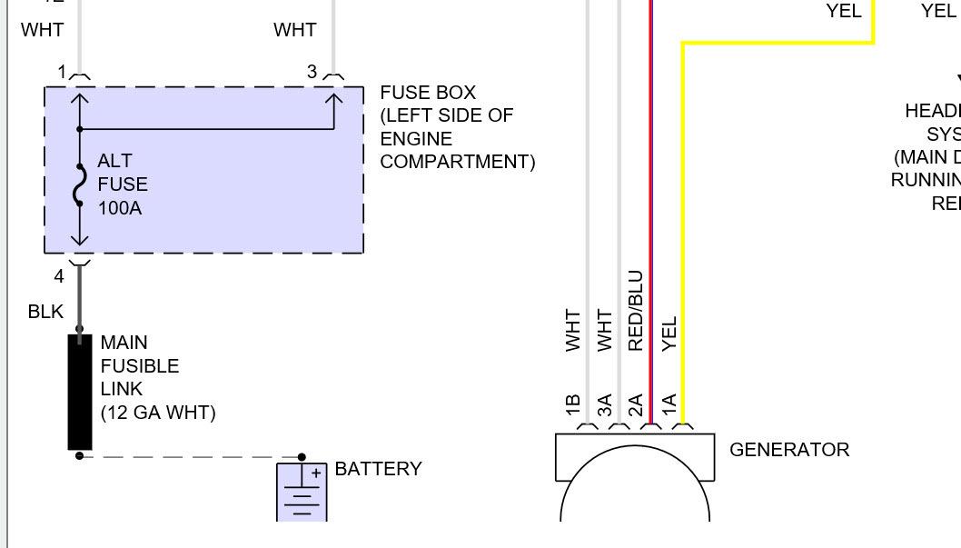 toyota corolla alternator wiring diagram judaism hinduism venn 1994 electrical connector to rebuilt thumb
