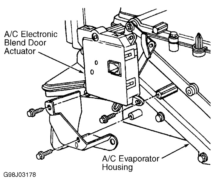 ford thunderbird heater diagram