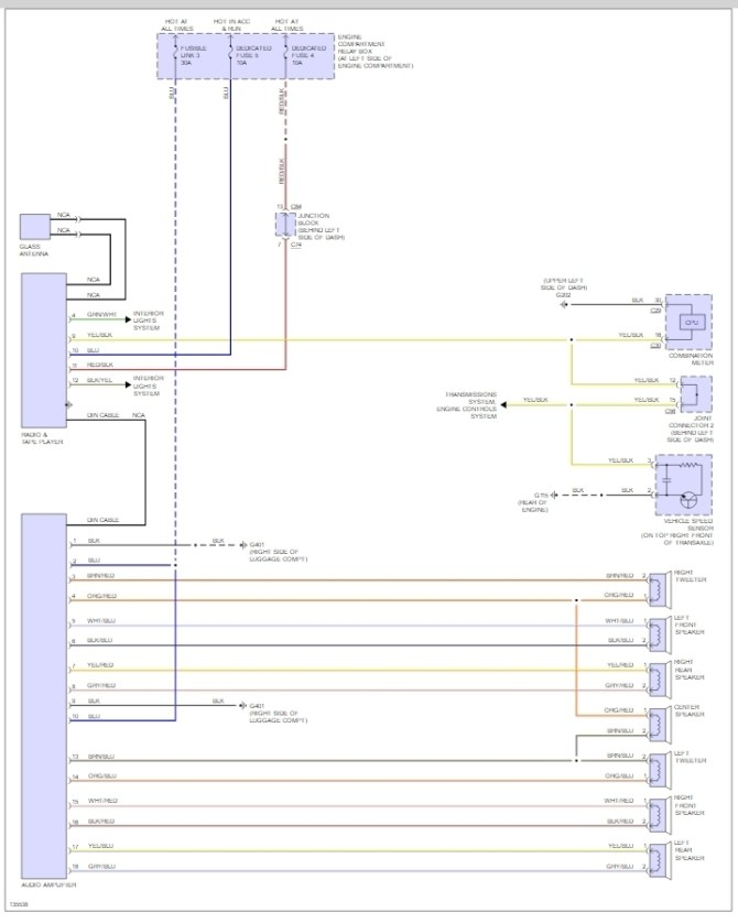 radio wiring harness diagram i cannot find the right