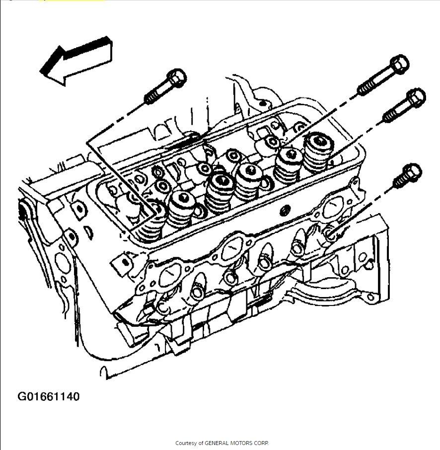2000 S10 4.3 Head Gasket Repair Manual