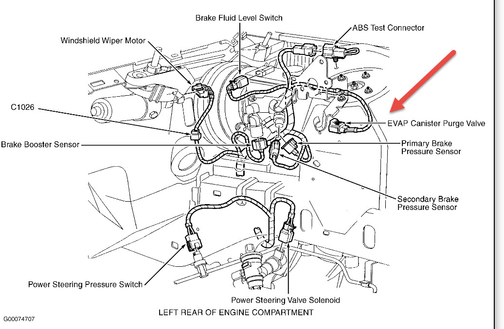 2001 Lincoln Continental Vacuum Diagram • Wiring Diagram