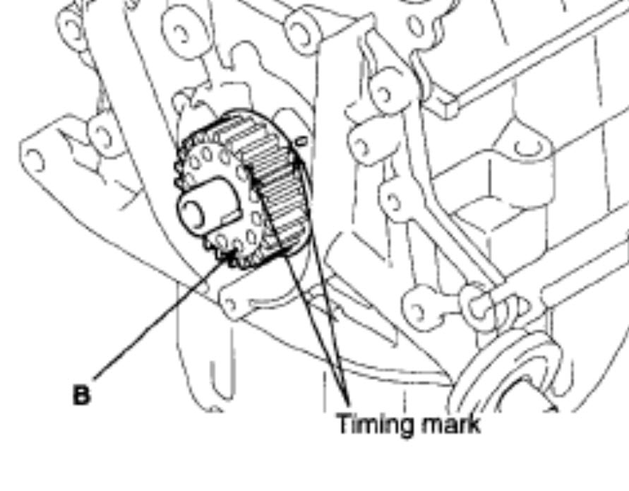 Timing Belt: Just Need to Know How the Timing Marks Need