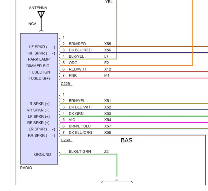 1998 dodge ram radio wiring diagram  description wiring