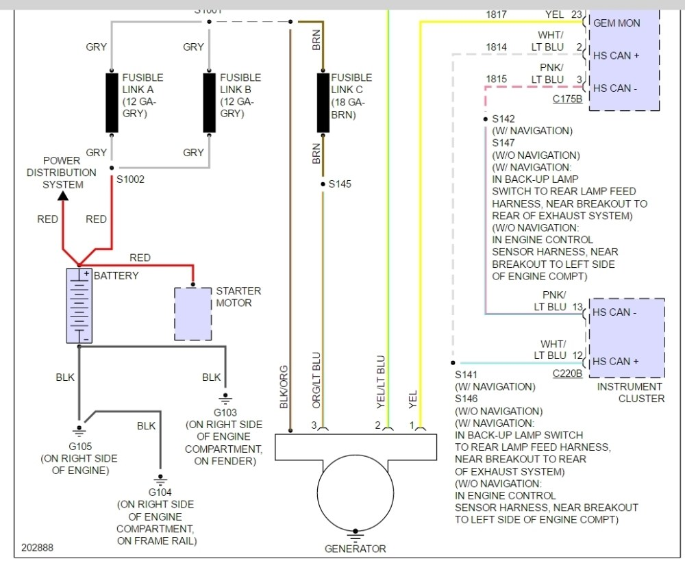 medium resolution of ford charging system wiring diagram wiring diagram paper 2002 ford taurus charging system wiring diagram wiring