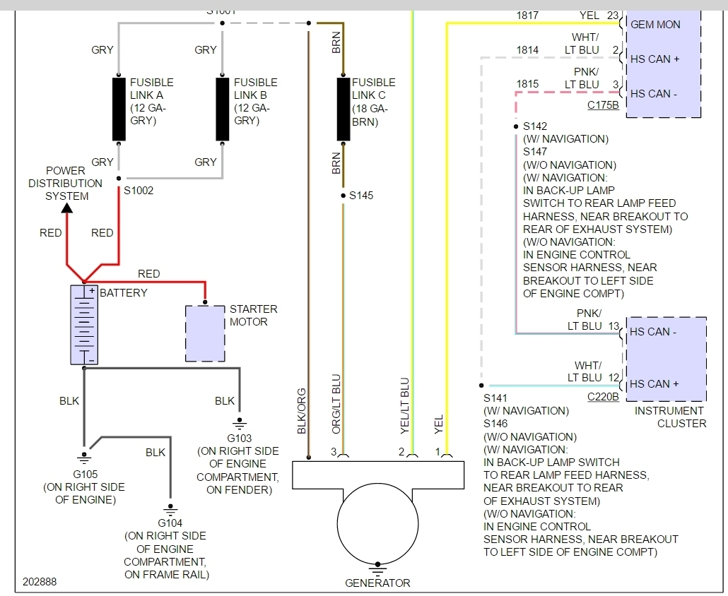 hight resolution of 2003 ford expedition alternator wire harness electrical wiring diagram 2003 ford alternator wiring diagram 2003 ford alternator wiring diagram