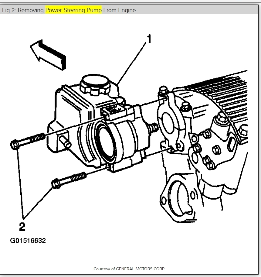 2000 Chevrolet Malibu Power Steering Pump Replace: How Do