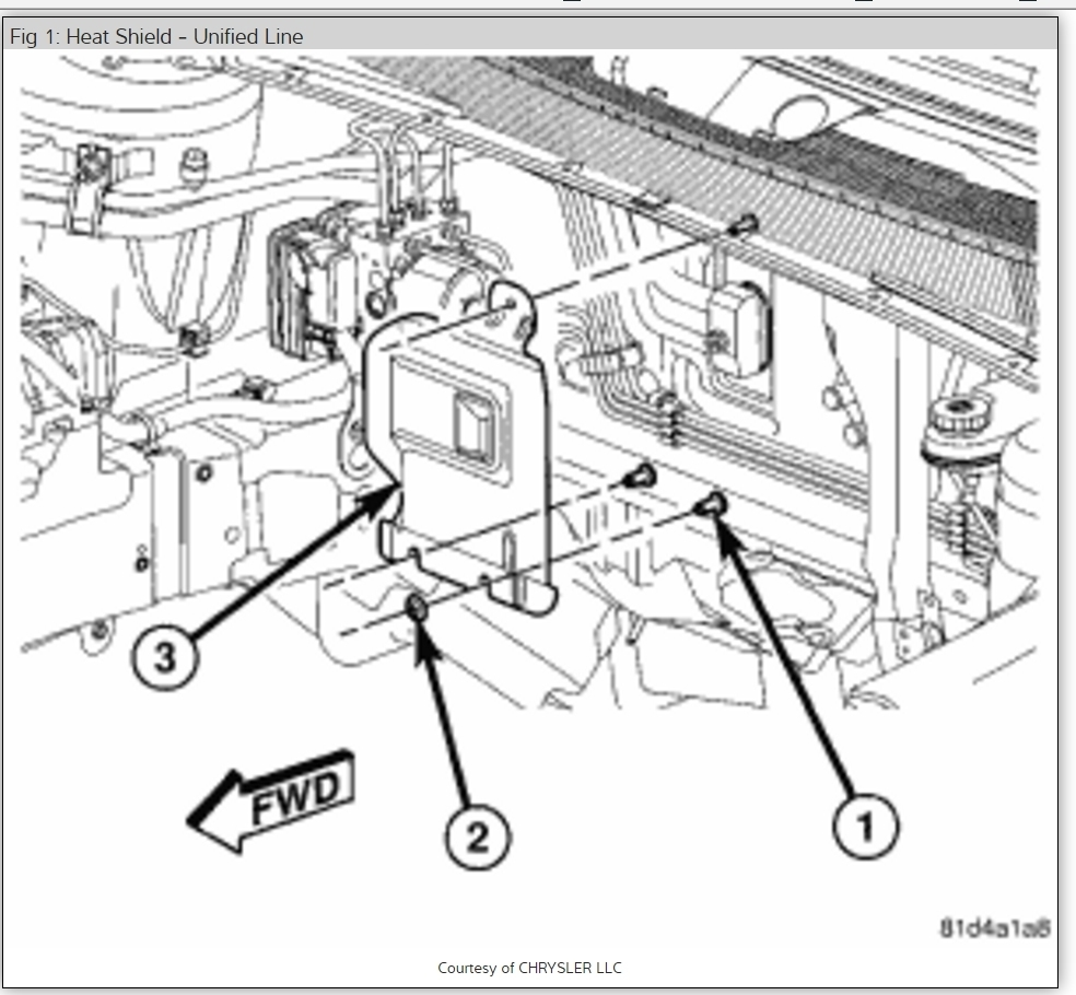 Service manual [Heater Core Replacement On A 2008 Dodge