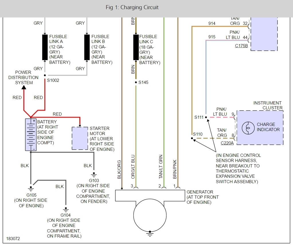 hight resolution of ford expedition alternator wiring diagrams