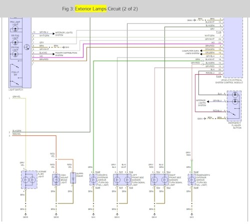 small resolution of 2007 audi q7 fuse diagram wiring libraryhatch lights not working need to know which ecm or