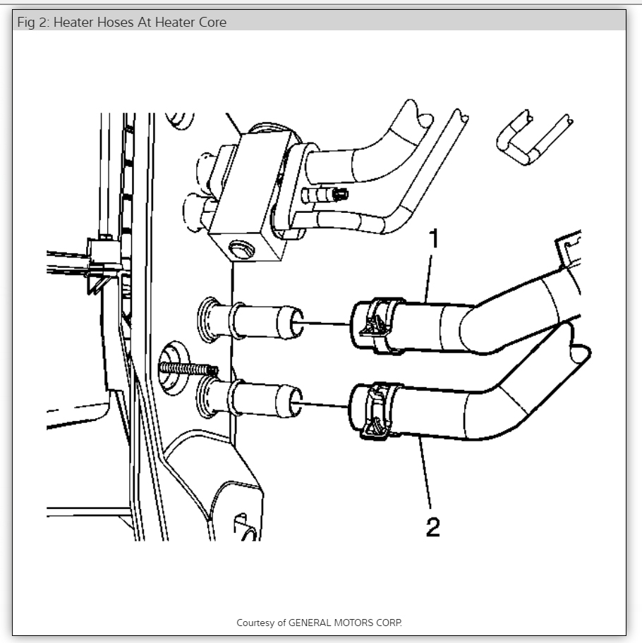 2006 Pontiac G6 Heater Diagram. Pontiac. Auto Parts