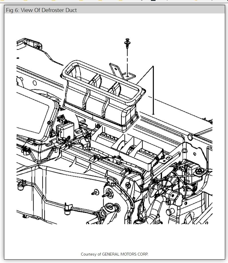 Pontiac G6 Evaporator Core Diagram. Pontiac. Auto Parts