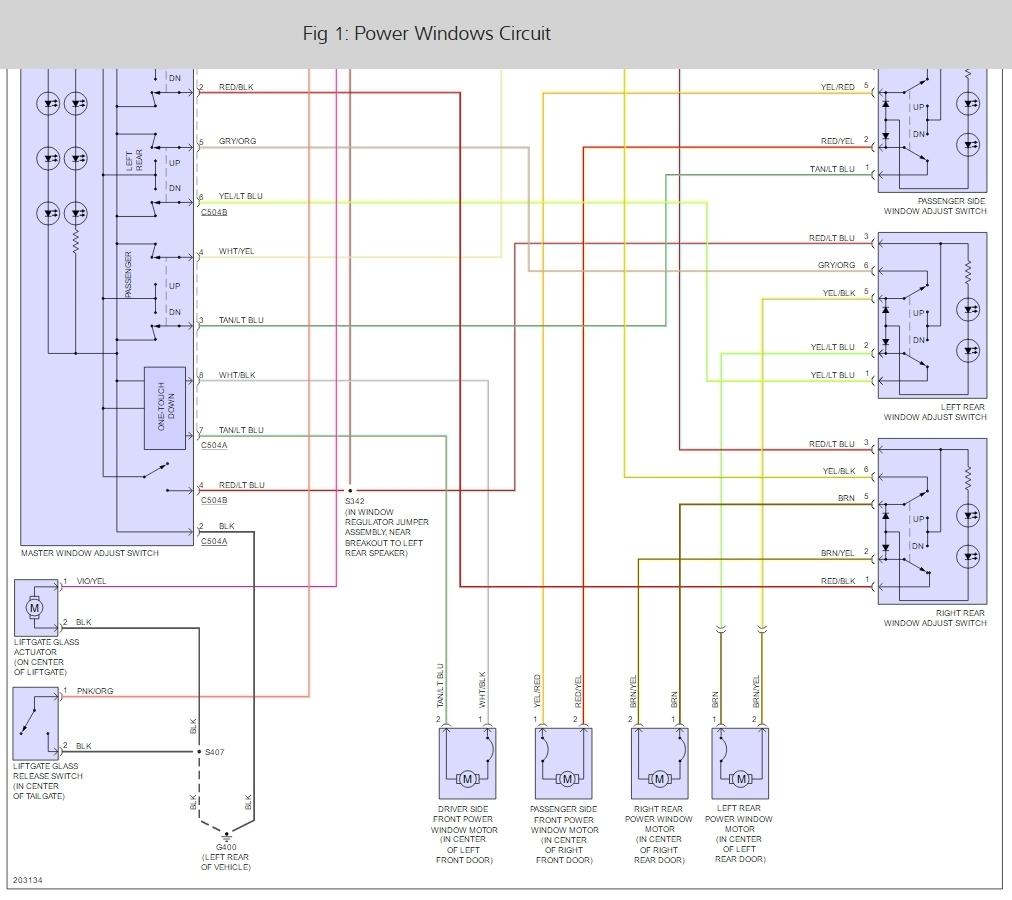 hight resolution of 1996 ford explorer power window fuse box diagram