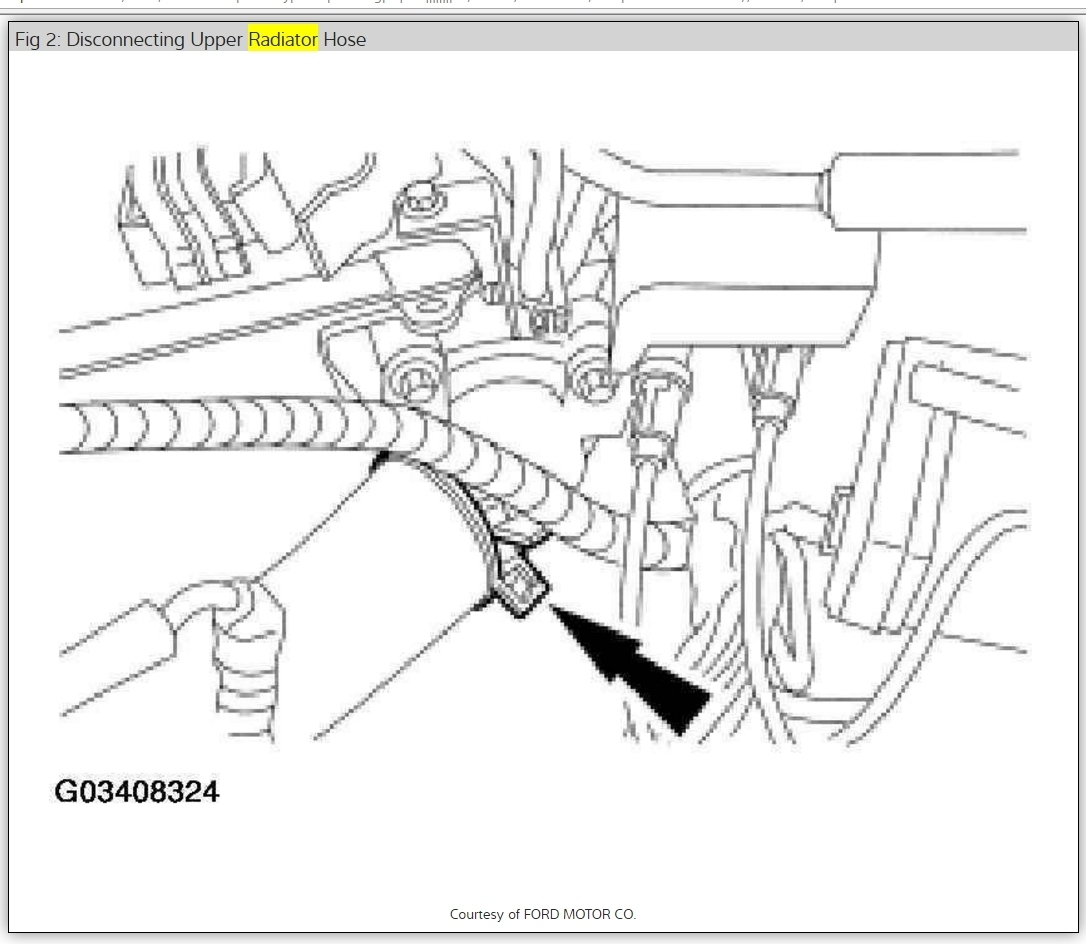 Mercury Sable Radiator How To Remove Radiator