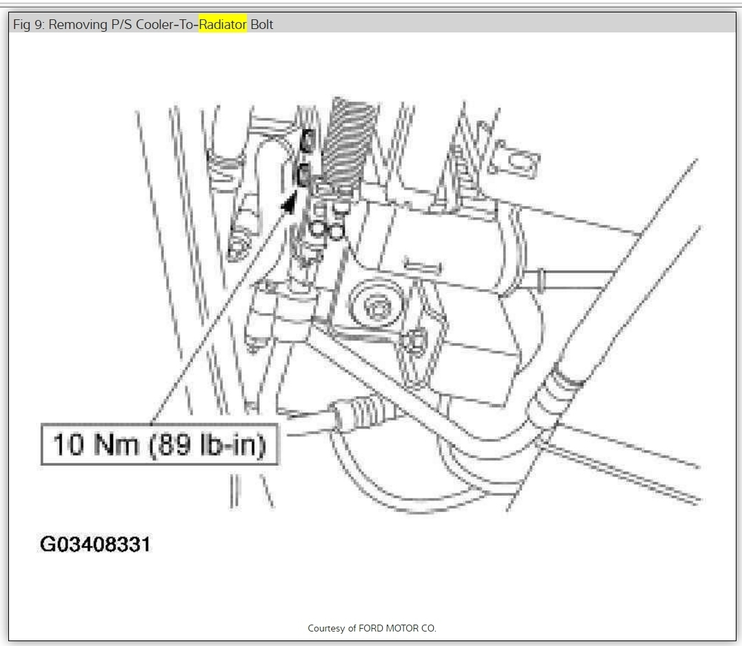 Service manual [How To Remove Radiator From A 2002 Mercury