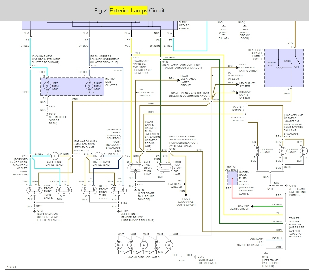 95 s10 brake light switch wiring diagram 2005 yamaha banshee 1998 chevy silverado