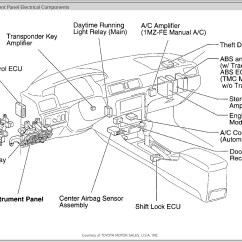 2000 Toyota Camry Parts Diagram 3 Wire Electrical Wiring 2001 Le Auto Catalog