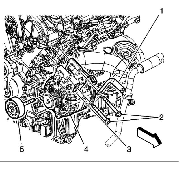 2009 GMC Acadia Alternator Replacement: Looking for Tips