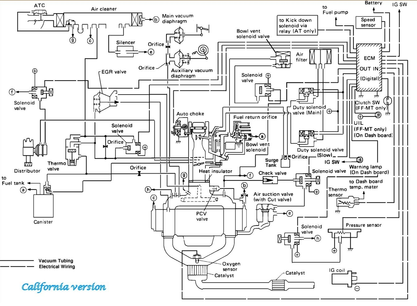 Vacuum Hose Diagram: I Have the Car Listed Above and I Got