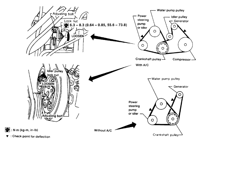 2000 Nissan Sentra 2 0 Belt Diagram. Nissan. Auto Parts
