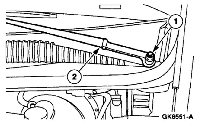 Service manual [Replace Rear Wiper Arm 1999 Lincoln Town