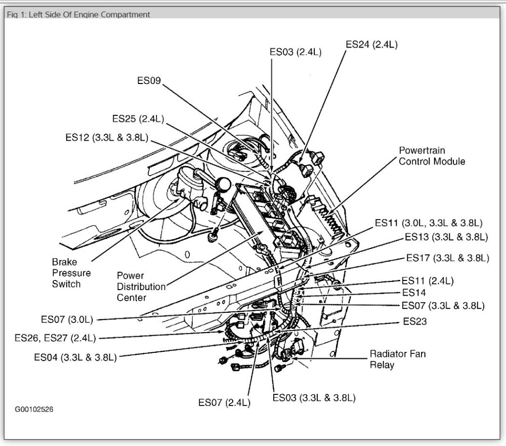 medium resolution of 1999 grand caravan sport fuse diagram