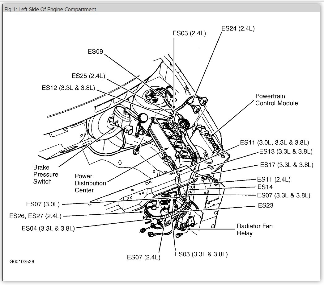 hight resolution of 1999 grand caravan sport fuse diagram