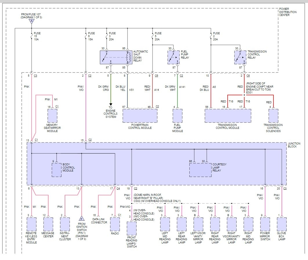 hight resolution of 2000 dodge caravan fuse box diagram