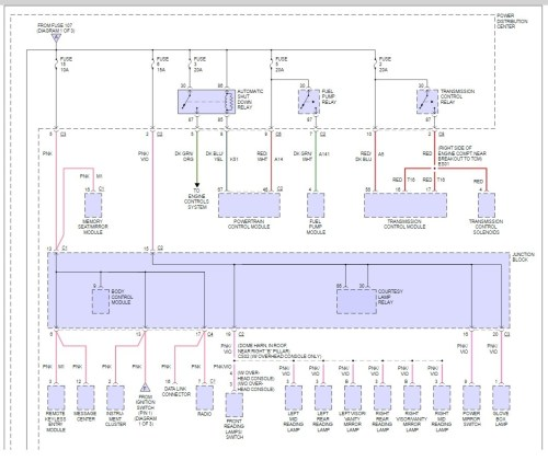 small resolution of 2000 dodge caravan fuse box diagram