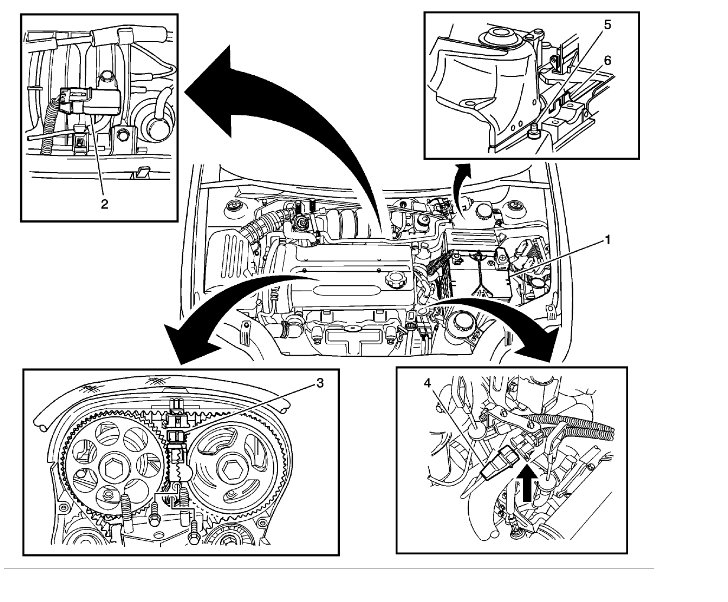 Spark Plugs 2006 Chevy Aveo Engine Diagram