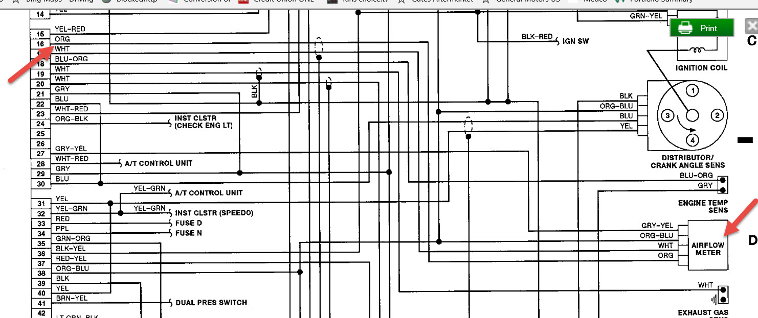 ECU Pinout or Wiring Diagram Needed: Is There a ECU Pinout