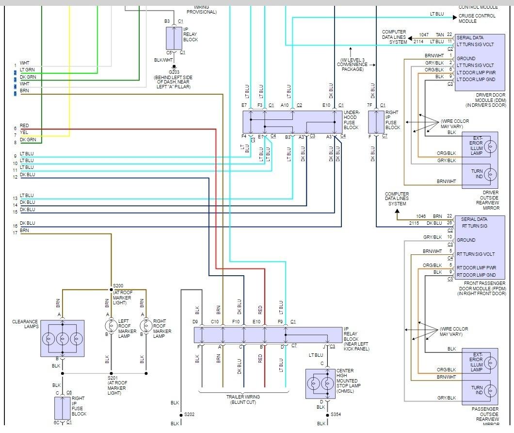 Third Brake Light Wiring Diagram