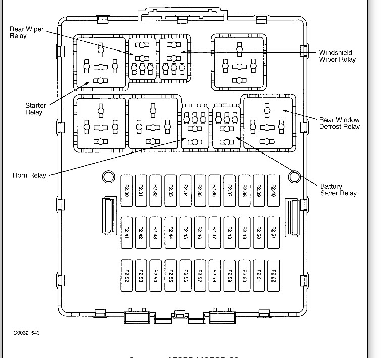Ford Focus 2007outer Fuse Box Diagrams : 38 Wiring Diagram