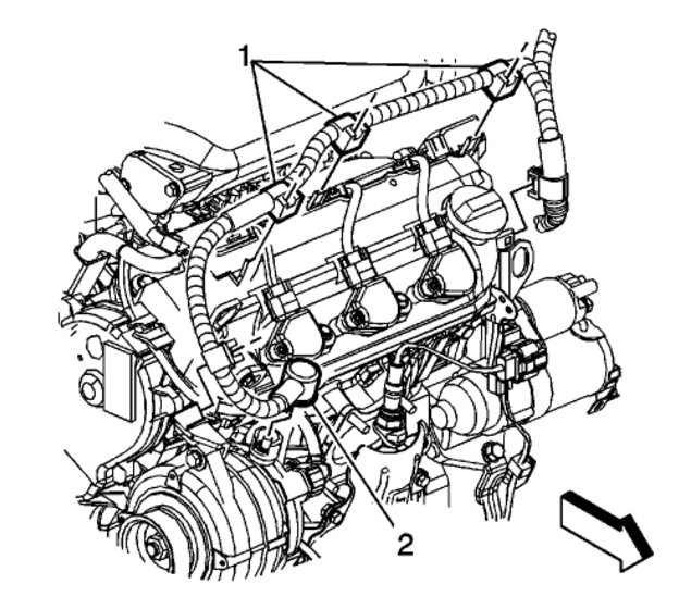 2007 Saturn Outlook Xr Engine Diagram. Saturn. Wiring