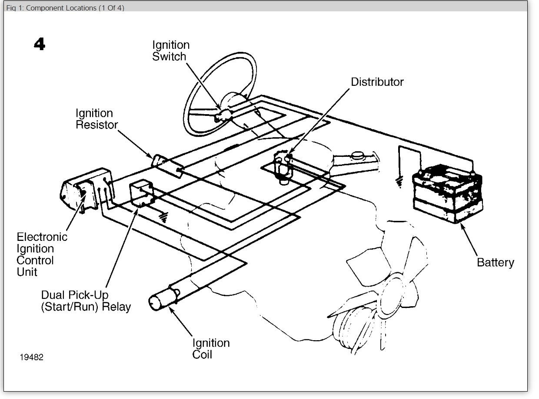 1986 gmc starter wiring diagram