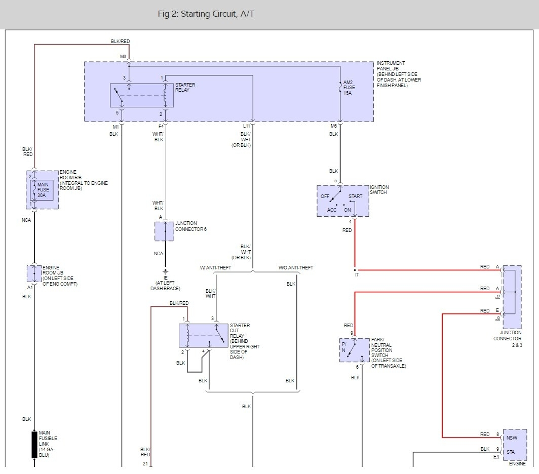 hight resolution of where is the neutral safety switch located on my 2003 toyota 03 corolla starter wiring diagram