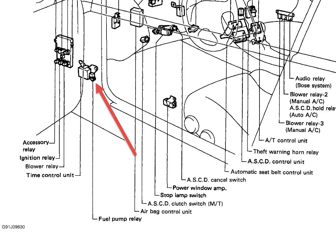 1993 nissan 300zx wiring diagram original