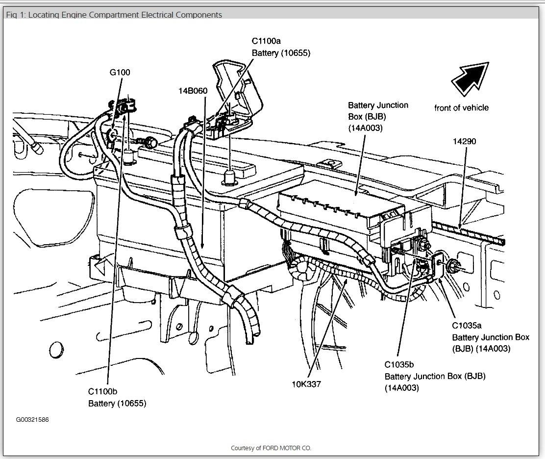 2003 ford taurus ses fuse diagram