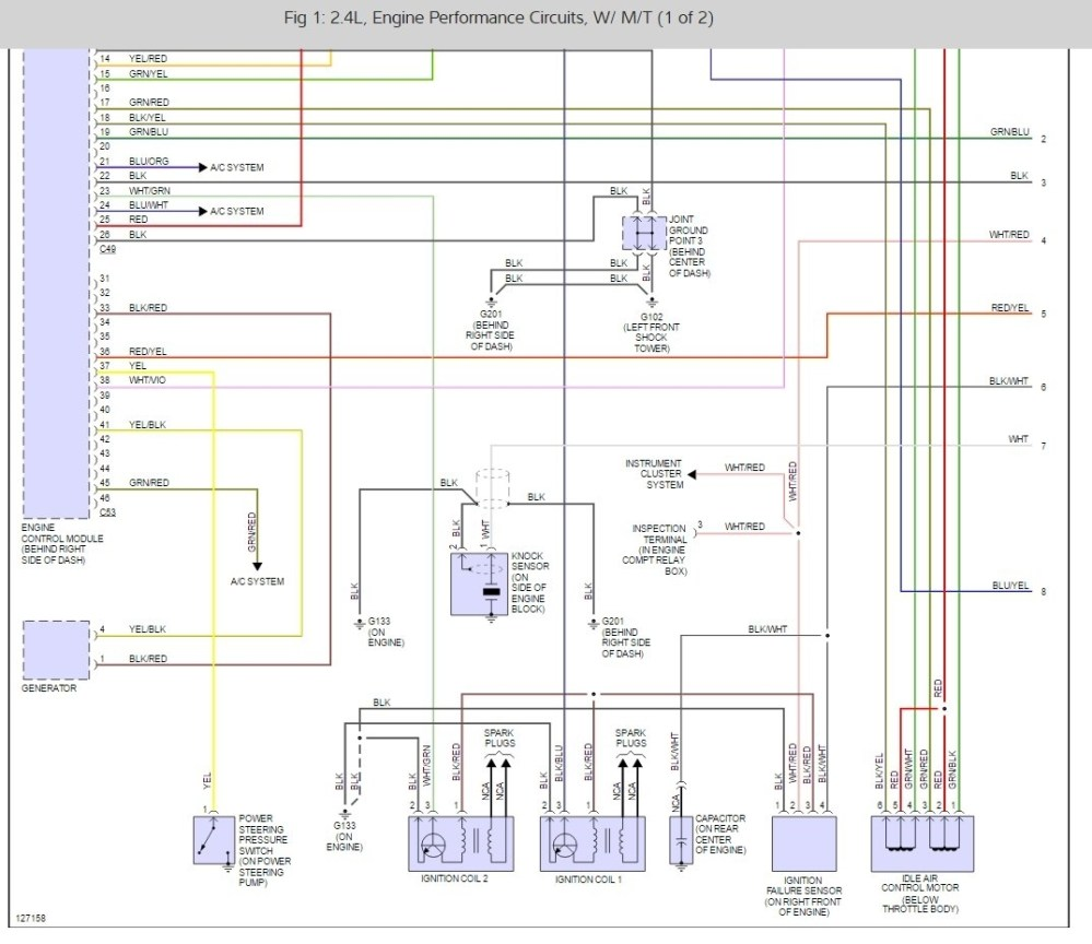medium resolution of 2006 eclipse wiring diagram