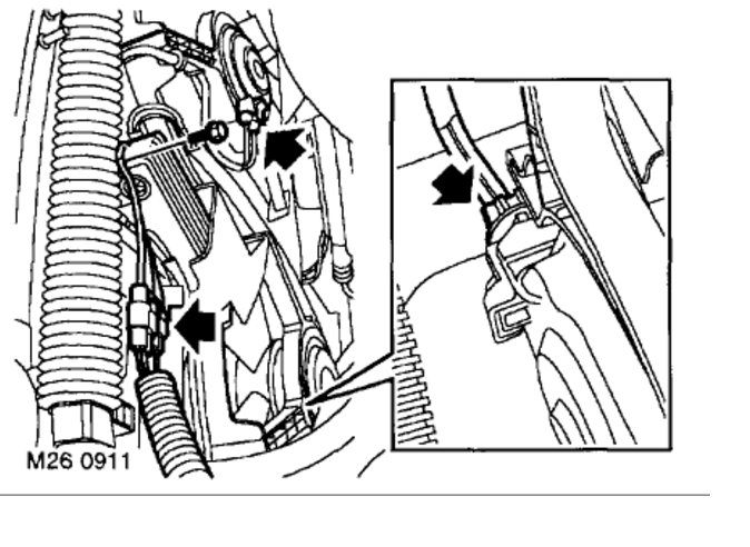 Cooling Fan Relay Location: Engine Cooling Problem 6 Cyl