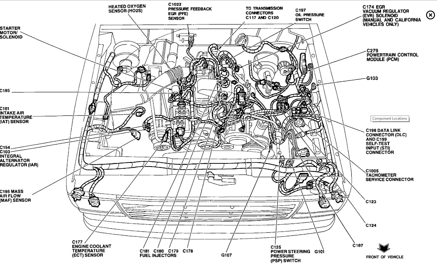 93 Ford Explorer Dpfe Sensor Wire Diagram Ford Explorer