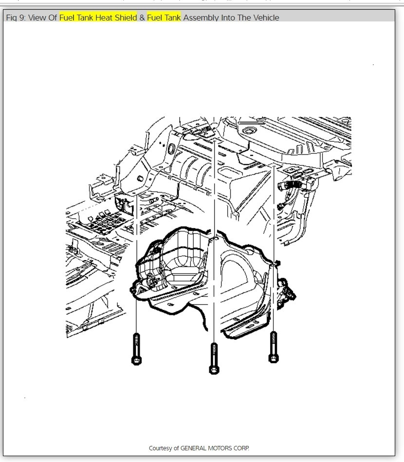 2006 Chevy Equinox Gas Tank Diagram. Catalog. Auto Parts