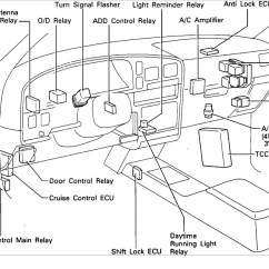 1996 Toyota 4runner Wiring Diagram For A Plug C Relay Location I Need To Locate The Thumb