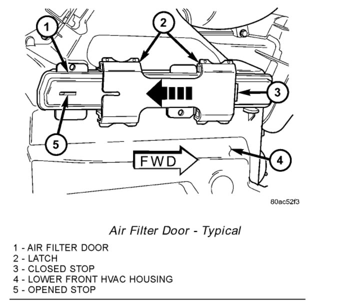 Cabin Air Filter: 6 Cyl Front Wheel Drive Automatic My