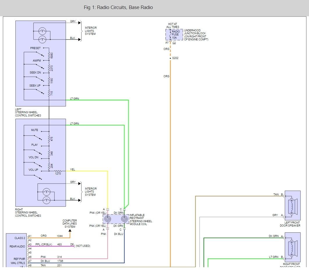 2000 chevrolet venture wiring diagram
