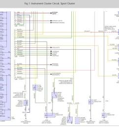 ford bantam bakkie instrument panel wiring diagram instrument cluster wiring diagram click to enlarge [ 946 x 850 Pixel ]