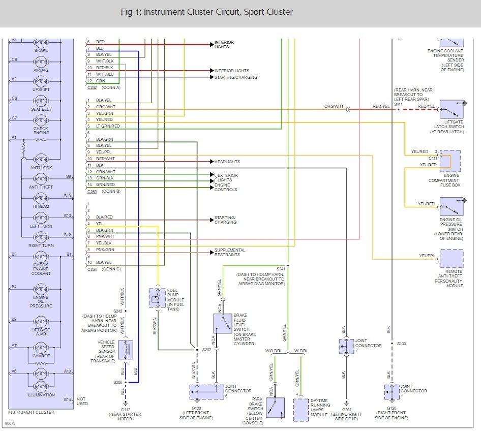 medium resolution of ford bantam bakkie instrument panel wiring diagram thumb