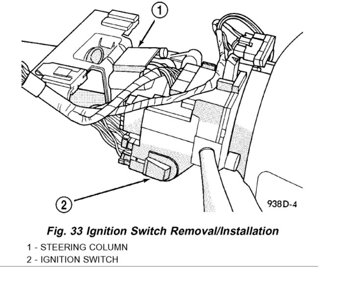 Need Help Video on Removing My Ignition Switch